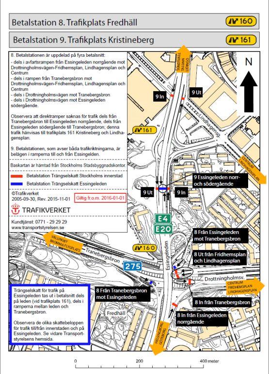 Betalstationernas Placering I Stockholm Transportstyrelsen